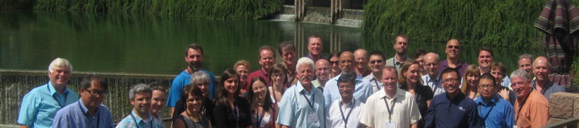 Group photo of conference attendees