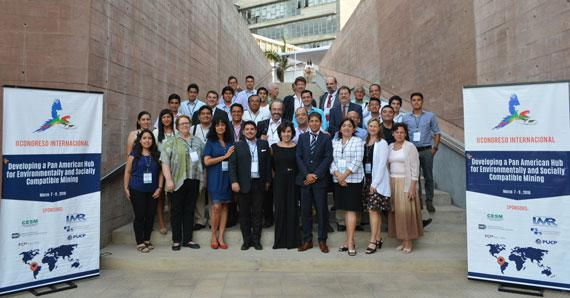 Group picture of some of the participants in the conference in Lima, Peru